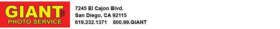 Giant Photo Service